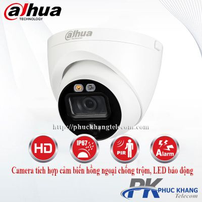 Camera HDCVI IoT Dome 2MP DAHUA HAC-ME1200EP-LED
