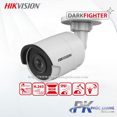 Camera IP công nghệ Darkfighter 2MP HIKVISION DS-2CD2025FWD-I