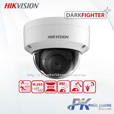 Camera IP công nghệ Darkfighter 2MP HIKVISION DS-2CD2125FHWD-I