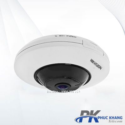 Camera IP 5MP H.265+ 360 độ DS-2CD2955FWD-IS